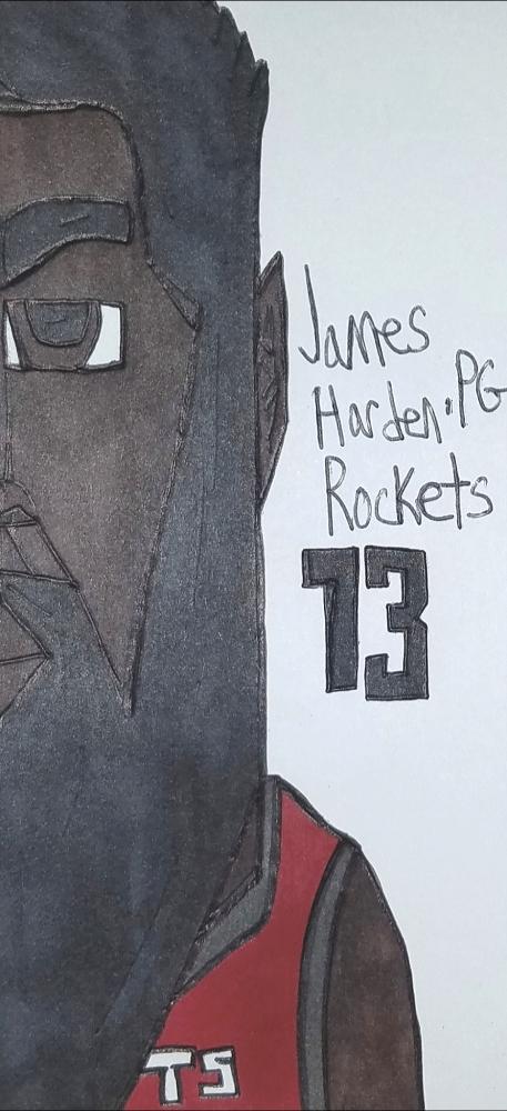 James Harden par armattock